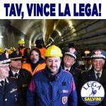 ++ TAV, VINCE LA LEGA: L'OPERA SI FARA' ++