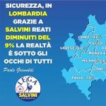 Grimoldi: Il primo anno di Lega al Governo e di Matteo Salvini al ministero degli Interni ha prodotto incredibili risultato in termini di sicurezza nelle nostre città, nei nostri territori