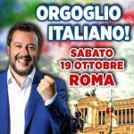 La nostra passione per l'Italia non è in vendita! Roma, sabato 19 ottobre, #orgoglioItaliano